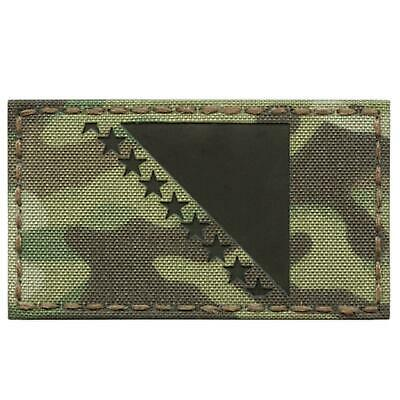 IR A-TACS AU Vegvisir Viking Norse Heathen 2x2 Arid Tan IFF Tactical Morale Hook-and-Loop Patch