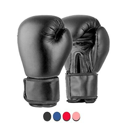 6oz Kids Boxing Gloves Sparring Punch Bag Martial Arts Training Mitts Ages 6-11