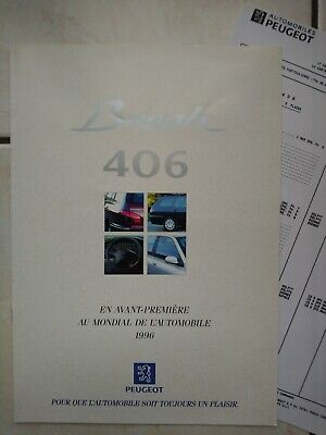 Brochure Peugeot 406 Break, 1996