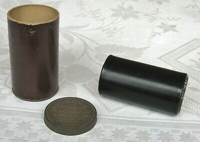 Very rare CHINESE International Indestructible Phonograph Cylinder Record ~ song