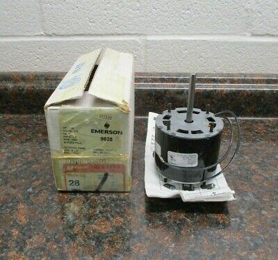 Emerson Thermally Protected Motor 9628 F33Hx10028 115V 60Hz 1/30Hp 1550Rpm