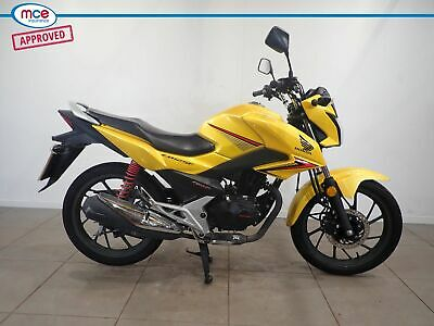 Honda GLR CB 125 Yellow 2018 Spares or Repairs Restoration Project Donor Bike