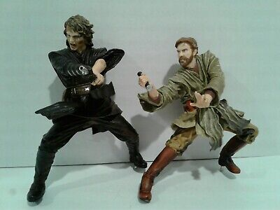 Star Wars Unleashed Obi Wan Kenobi & Anakin Skywalker 2005  **INCOMPLETE**