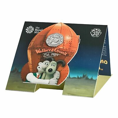 2019 Royal Mint Wallace and Gromit 50p Fifty Pence Coin Pack Sealed Uncirculated