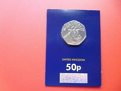 2019 Brilliant Uncirculated The Gruffalo 50p Fifty Pence Coin
