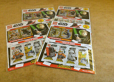 Lego Star Wars Trading Card Game Multi Pack Limited Edition Gold Trading Cards