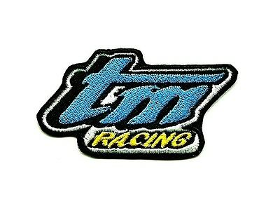 Ecusson moto TM Racing cross enduro supermoto biker kart Patch Parche Aufnäher