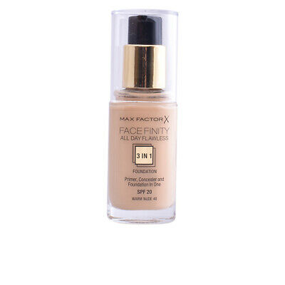 FACEFINITY ALL DAY FLAWLESS 3 IN 1 foundation #48-warm nude