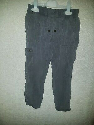 Girls Age 6 Years Grey Trousers From Next Good Quality And Condition Lovely