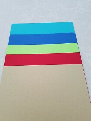 STAMPIN UP MIXED COLORS    10 sheets PAPER CARDSTOCK 8.5 x 11 RETIRED