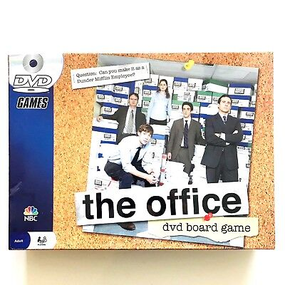 The Office Dvd Board Game NBC Pressman 2008 Trivia 2-6 Players Family Sealed New