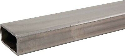 Steel Tubing - 1 x 2 in Rectangle - 0.120 in Wall Thickness - 4 ft Long - Steel