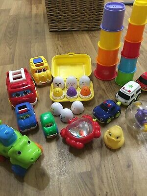Bundle Of Baby/toddler/preschool Toys, Inc Tomyfisher Price, Early Learning