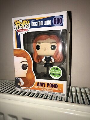 Funko Pop TV Doctor Who Amy Pond Police Woman 2018 Spring Convention Exclusion