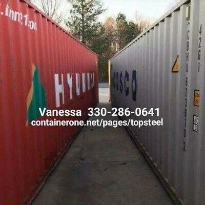 Steel Conex/ Cargo/ Storage/ Shipping Containers