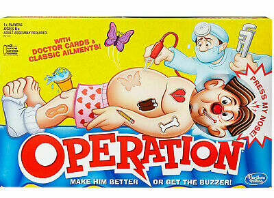 Operation Classic Game By Hasbro