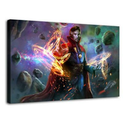 """12""""x20""""Doctor Strange HD Canvas prints Painting Home Decor Picture Room Wall art"""