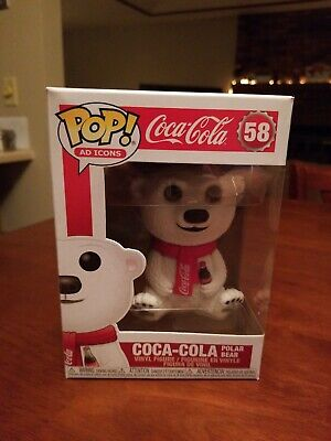 🌨 Funko POP! Ad Icons: Coca-Cola - Polar Bear #58 Vinyl figure