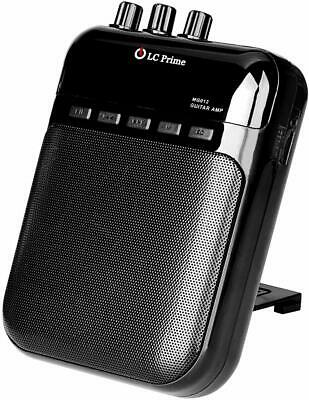 Aroma Guitar Amp Mini Portable Clip Amplifier Speaker Recorder 2 in 1 Chargeable
