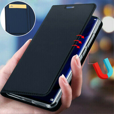 Magnetic Case For Xiaomi Redmi 8A/8 Note 8 Pro Luxury Leather Wallet Flip Cover