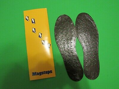 Nikken MagSteps Magnetic Insoles Men's-Size Medium 7-11 Dress/Everyday Shoes NOS
