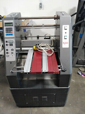 USED Rollem Auto 4 Score/perforate/numbering Unit with 3 numbering heads.