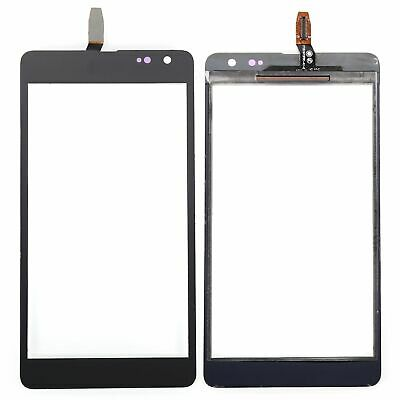 For Microsoft Nokia Lumia 535 Front Black Touch Screen Glass Panel Digitizer 2S