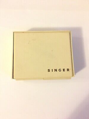 Vintage SINGER Sewing Machine Flexi-Stitch Attachments With Case