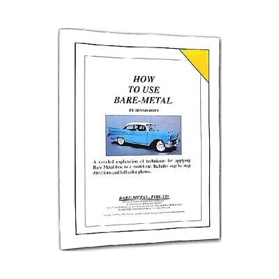 How To Use Bare Metal Foil Booklet