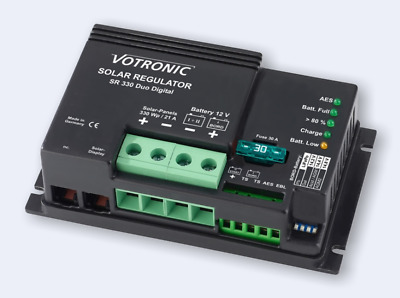 Votronic, Solar-Laderegler SR 330 Duo Digital