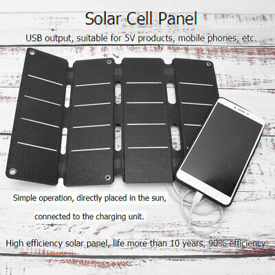 Mini Flexible Solar Charger Charging Panel Module 14W 5V 0-2.4A with Double USB