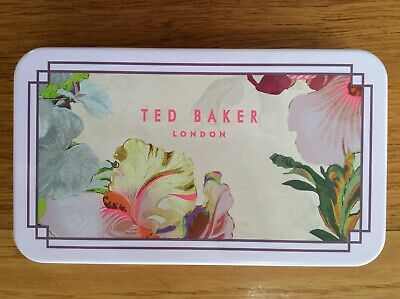 Ted Baker London Pink Floral  Collector's Tin