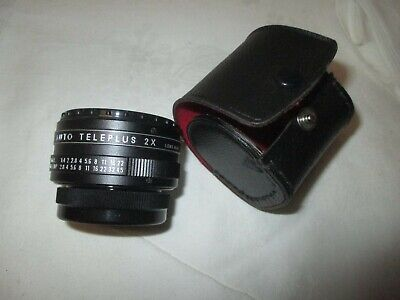 APS Auto Teleplus 2 x   - LENS Made in Japan - sehr gut