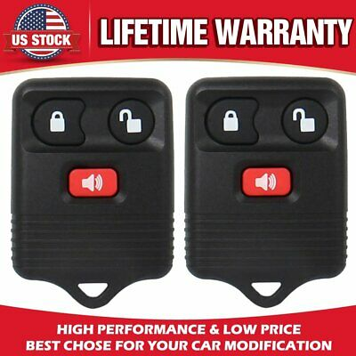 2Pack Keyless Entry Remote Car Key Fob For Ford F150 F250 F350 Escape Expedition