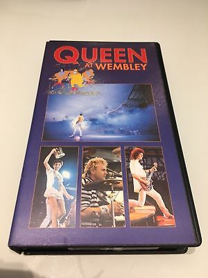 169  VHS Video.Queen at Wembley  July 1986.