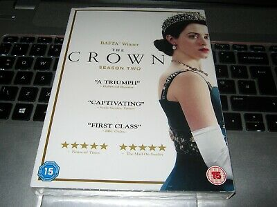The Crown - Season 2 [DVD] [2018]  DVD ~ Claire Foy  NEW Sealed