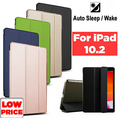 Luxury Leather Slim Smart Stand Case For Apple iPad 10.2 (7th Generation) 2019