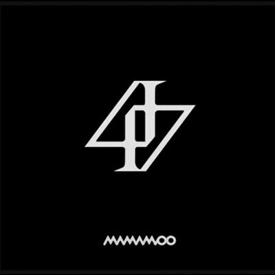 MAMAMOO 2nd Album [REALITY IN BLACK] CD+Booklet+Lenticular+Lyrics+Card+F.Poster
