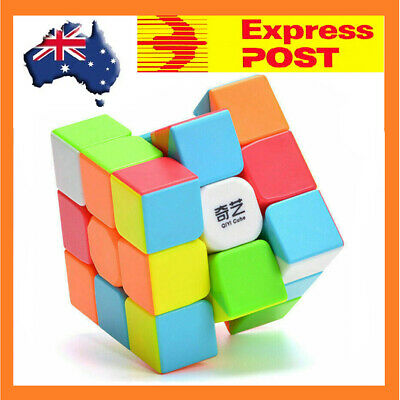 3x3x3 Magic Cube Rubiks Puzzle Rubics Rubix Toy Smooth Fast Speed for Kids Adul