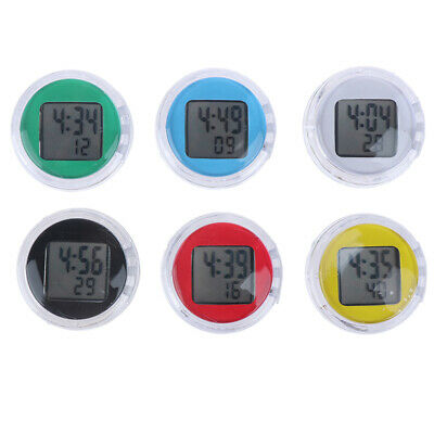 Waterproof Motorcycle Digital Thermometer Clock Watches Instruments Accessori,X