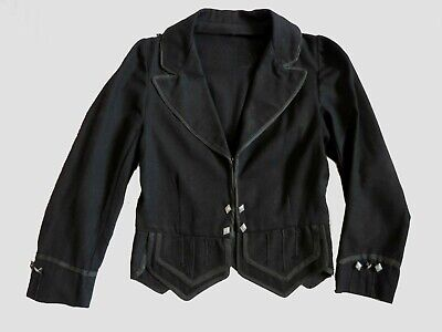 Boys Vintage Highland Doublet - Scottish Jacket - Edwardian, early 1900s