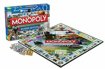 Monopoly Dundee Edition Board Game Brand New Card  Dice Game Christmas Gift Xmas