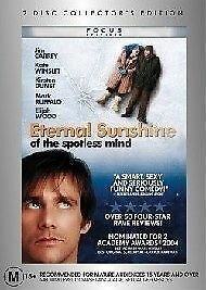 Eternal Sunshine Of The Spotless Mind DVD Jim Carrey - (L7)