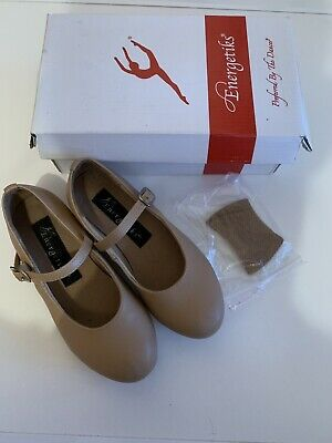 Energetiks Leather Tap Dance Shoes - Size 11.5 Child