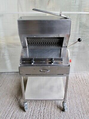 Bread slicer 13mm thick JAC shop bakery equipment FULLY SERVICED, 3mnth warranty