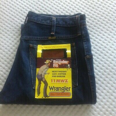Like New Vintage  Wrangler 11MWZ  Originals worn once bought new in 1995