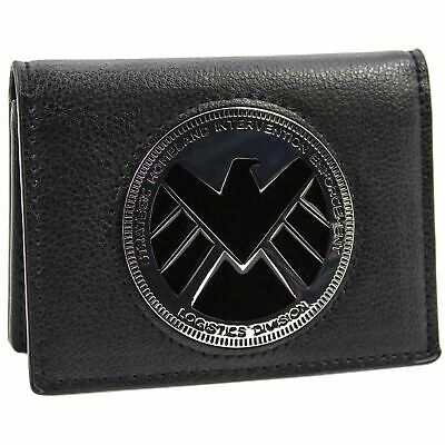 Official Marvel Avengers Agents Of Shield Phil Coulson Badge Wallet *SECOND*