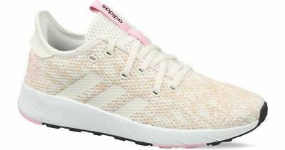 adidas Womens Questar X BYD Brown Pink Running Athletic Shoes - Size 10