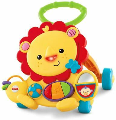 Fisher-Price Light & Musical Lion Baby Walker, Toddler Activity Toy