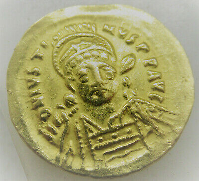 Unresearched Ancient Byzantine Gold Solidus Coin